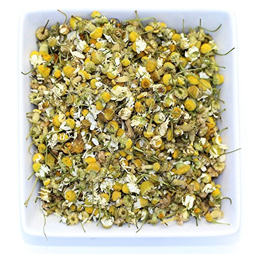 Tealyra - Egyptian Chamomile Tea - Pure Herbal Tea - Natural Bedtime Tea - Caffeine-Free - Relaxing Herbal Remedy - Anxiety and Stress Relief - Organically Grown - 450g (16-ounce) - incensecentral.us