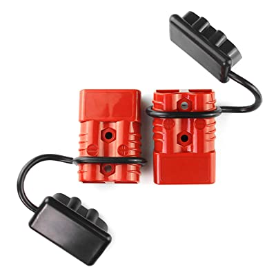 AURELIO TECH Universal 2-4 AWG 350A Battery Connect Quick Connector Plug for 12V Winch Trailer Driver Electrical Devices: Toys & Games