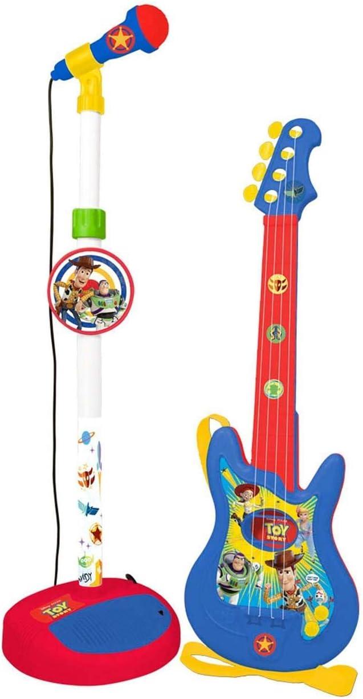 Toystory 4- Guitarra y micrófono Toy Story 4, Multicolor (Claudio ...