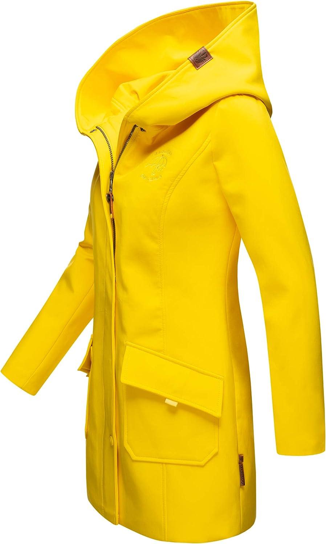 Marikoo Damen Winter Regenjacke Softshell Mantel Business Raincoat Wintermantel Parka XS-XXXL Mayleen