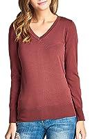 V-Neck Light Pullover Sweater