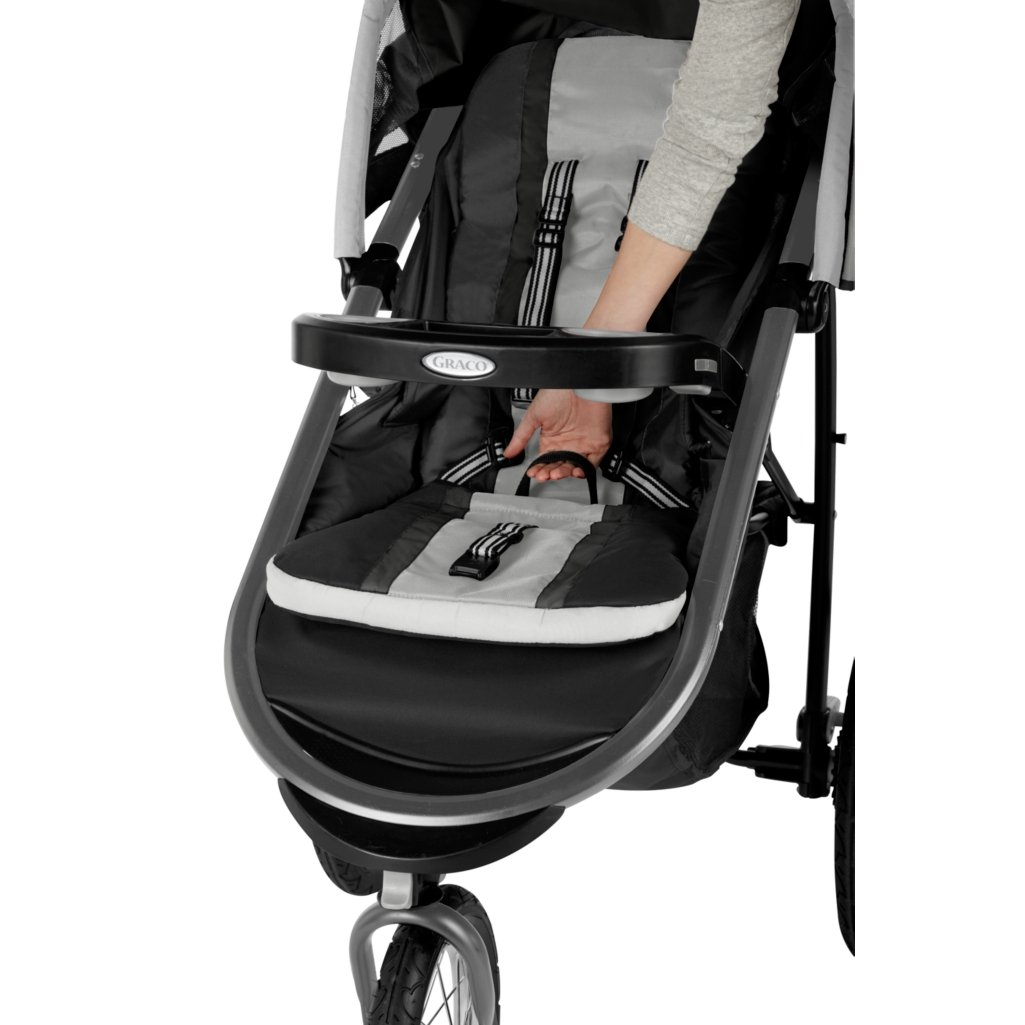 Graco FastAction Fold Jogger Click Connect Travel System, Gotham (Discontinued by Manufacturer) by Graco (Image #6)