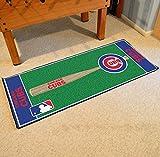 """Fan Mats Chicago Cubs Baseball Runner, 30"""" x 72"""""""