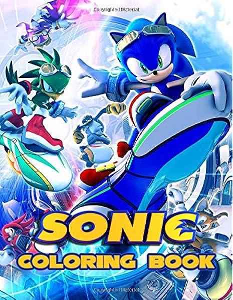 - Amazon.com: Sonic Coloring Book: A Perfect Book For Sonic The Hedgehog  Fans! (9798614883225): Sonic The Hedgehog: Books