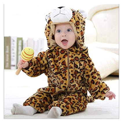 65a038c47c26 FidgetGear Baby Toddlers Outerwear Unisex Cosplay Animal Costume Romper  70-100cm Leopard 80(4-12Month): Amazon.in: Home & Kitchen