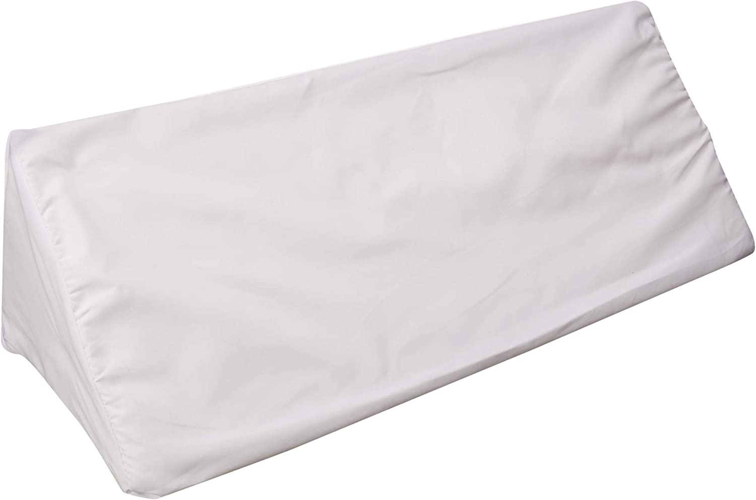 Hermell Foam Bed Wedge Pillow for Side Sleepers (White): Health & Personal Care