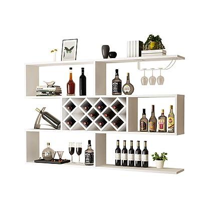 Soporte De Vino Para Montaje En Pared, Refrigerador De Vino De Tres Pisos Estante De