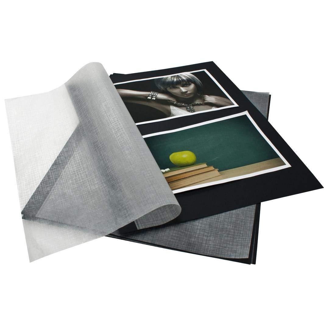 Fotokarton A4 weiß mit Pergamyn Goldbuch