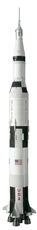 Bandai Tamashii Nationen Apollo 11 und Saturn V Launch Vehicle NASA OTONA NO Chogokin Rocket