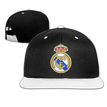 d951b6c0581 Hittings Hip Hop REAL MADRID Beautiful Art Bucket Hat White  Amazon.co.uk   Sports   Outdoors