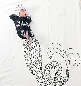 Amazon.com: Vonty - Manta de bebé con diseño de hito para ...