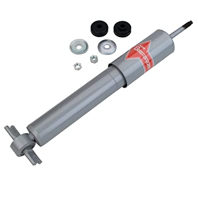 KYB KG5570 Gas-a-Just Gas Shock,Silver, White: Automotive