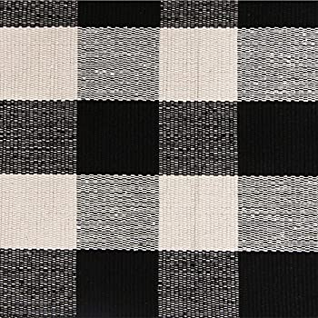 Amazon Com Ustide 100 Cotton Rugs Buffalo Plaid Rug