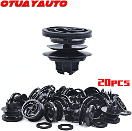 Otuayauto 3b0868243 Innenverkleidung Türverkleidung Befestigung Clips 20 Stück Auto