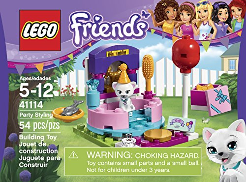 Review LEGO Friends Party Styling
