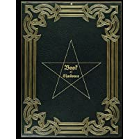 "Book Of Shadows: Magic Spell Book, Potion Log, Magic Journal | 110 blank pages with ornaments | cream paper | durable softcover | large ( 8.5""x11"")"