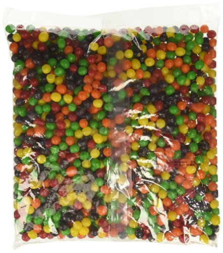 Jelly Drop Beans Lemon - Lemonhead Chewy Lemon Candy, 5 Pound Bulk Candy Bag