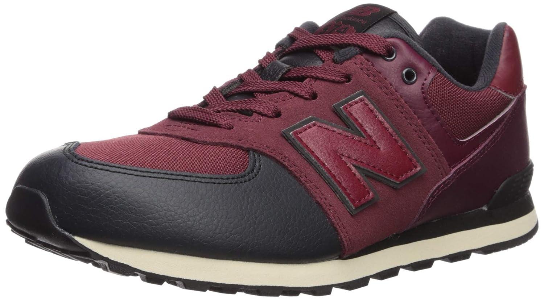 the best attitude e6469 f6147 New Balance Boys' Iconic 574 Sneaker, Nubuck Burgundy/Black, 8 M US Toddler
