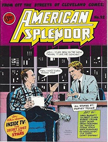 American Splendor #12, 1987, by Harvey Pekar. David Letterman issue