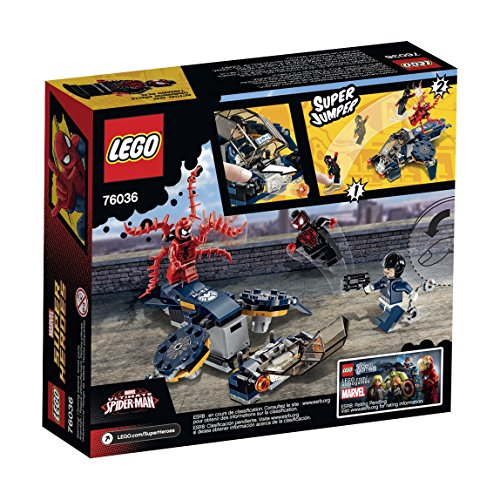 Lego Super Heroes  Carnage S Shield Sky Attack Building Kit