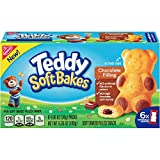 Teddy Soft Bakes with Filling, Chocolate, 6 Count