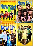 New Girl Season 1-4 Complete DVD Collection - Seasons 1, 2, 3 and 4 + Extras + Bonus Features + Extended Version of Virgins + Audio Commentary + Deleted Scenes