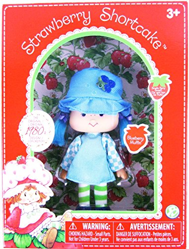 CLASSIC 1980s BLUEBERRY MUFFIN Retro Strawberry Shortcake Berry Scented Doll Box For Ages -