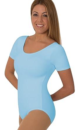8f320761267 Amazon.com  Body Wrappers Short Sleeve Ballet Cut Leotard  Clothing