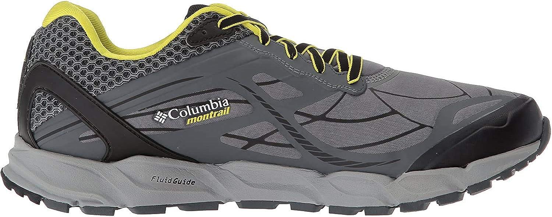 Columbia Men's CALDORADO III Outdry Trail Running Shoe, ti Grey Steel, Zour, 8 D US