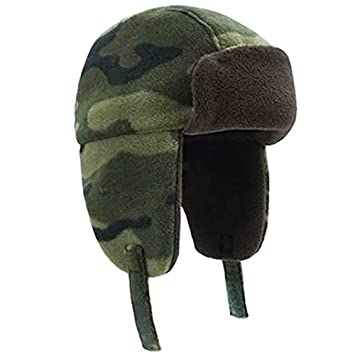 Amazon.com   Folany Todder Baby Boys  Ushanka Earflap Winter Trooper ... 9c02b098ef8