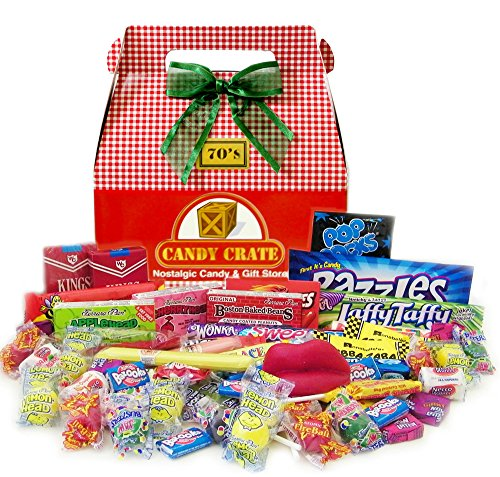 1970's Holiday Retro Candy Gift Box