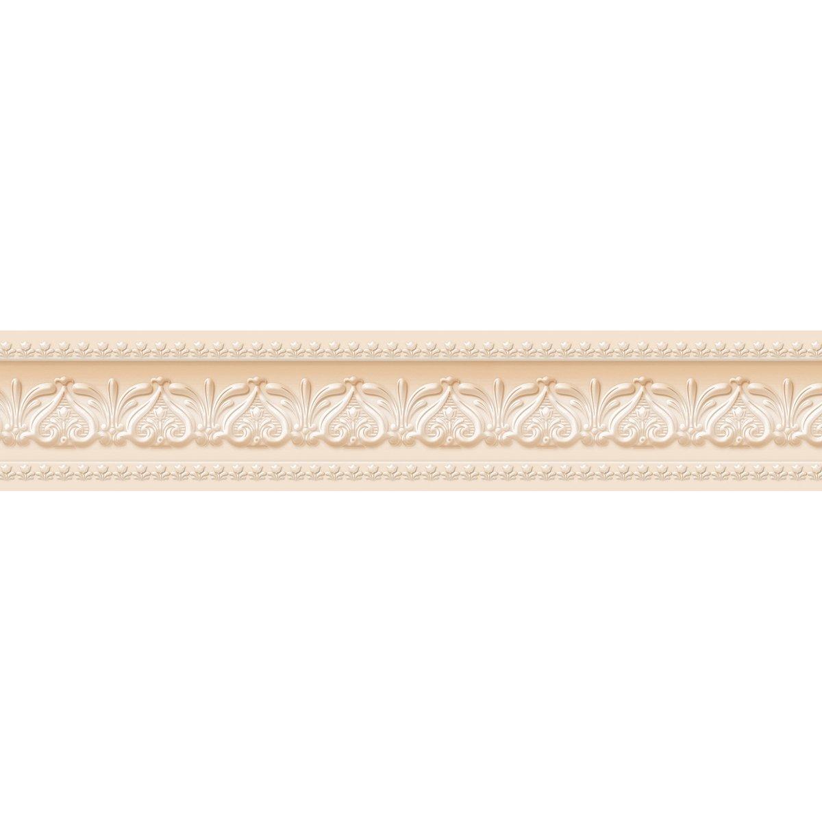 FIXPIX Royal Tulip c/áscara y palillo de la pared frontera f/ácil de aplicar gris neutro