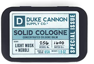 product image for Duke Cannon Solid Cologne Special Issue - Light Musk + Neroli