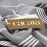 Cacala 100% Cotton Pestemal Turkish Bath Towel