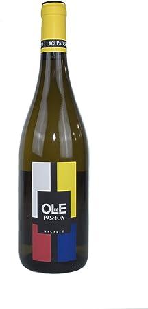 OLE DE PASSION- Vino blanco Macabeo 75cl-Añada 2017 D.O.Manchuela