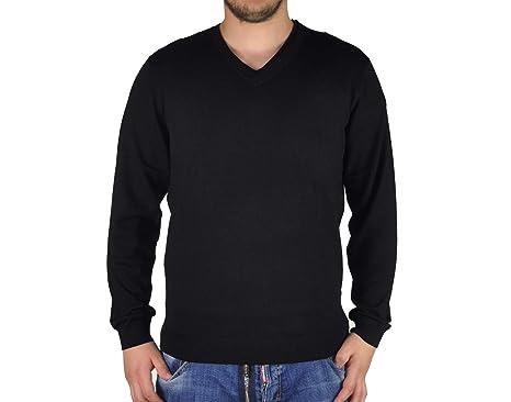 V Ausschnitt Pullover Toni schwarz (A6320 25 68): Amazon