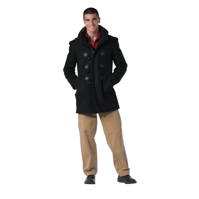 Rothco Duffle Coat, Black, Medium