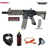Tippmann TMC MAGFED Bronze Paintball Gun Package - Black/Tan
