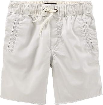14 Kids Off White OshKosh BGosh Big Boys Pull-On Camp Shorts
