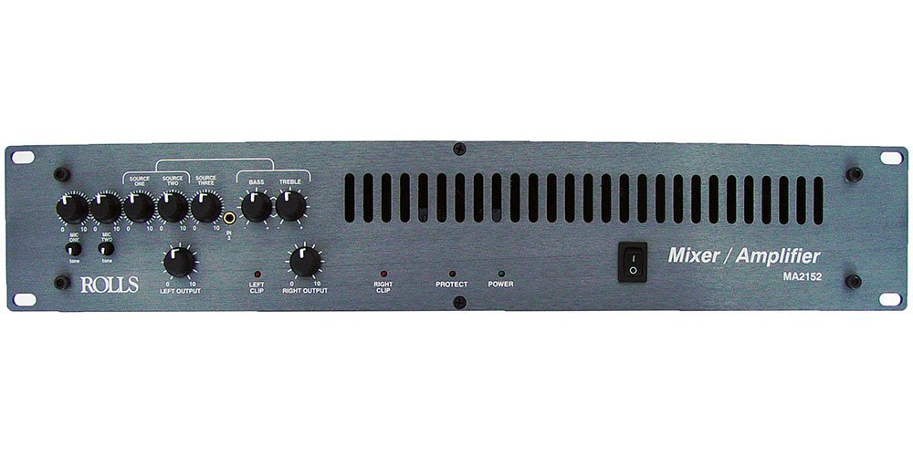 Rolls MA2152 70V, 100W per Channel Mixer/Amplifier