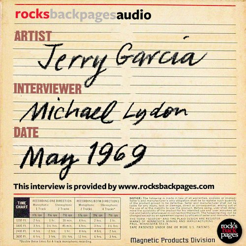 Jerry Garcia of The Grateful Dead interviewed by Michael Lydon