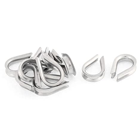 Aexit Acero inoxidable 4mm Cable de cable de alambre ...