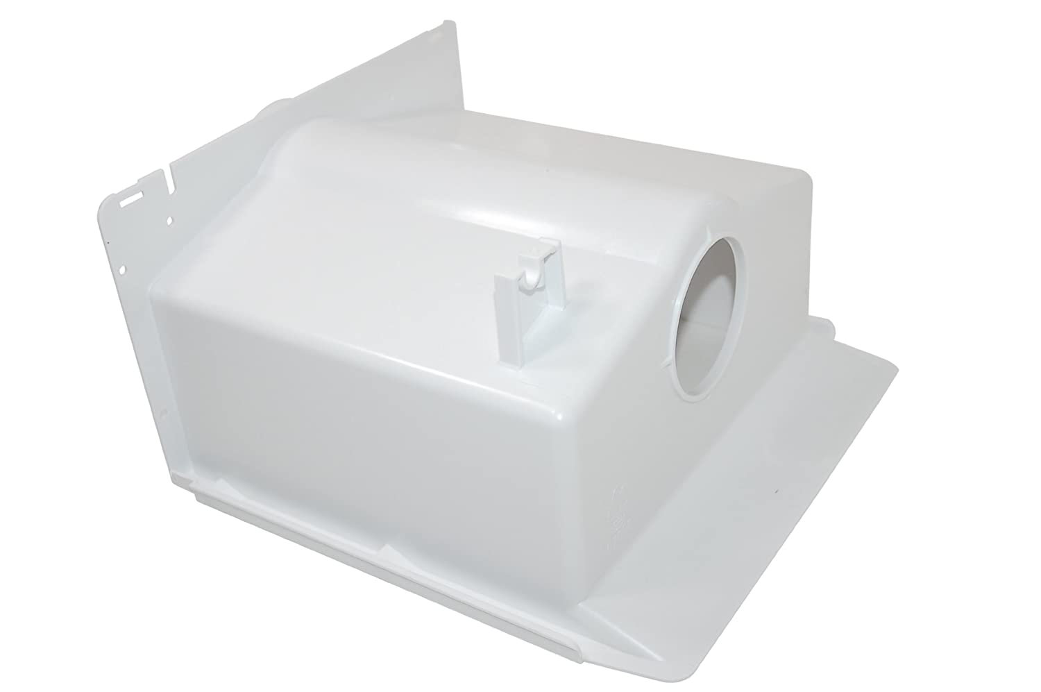 Whirlpool Admiral Amana Hotpoint Maytag Whirlpool Refrigeration Ice Cube Container. Genuine part number 481241848977