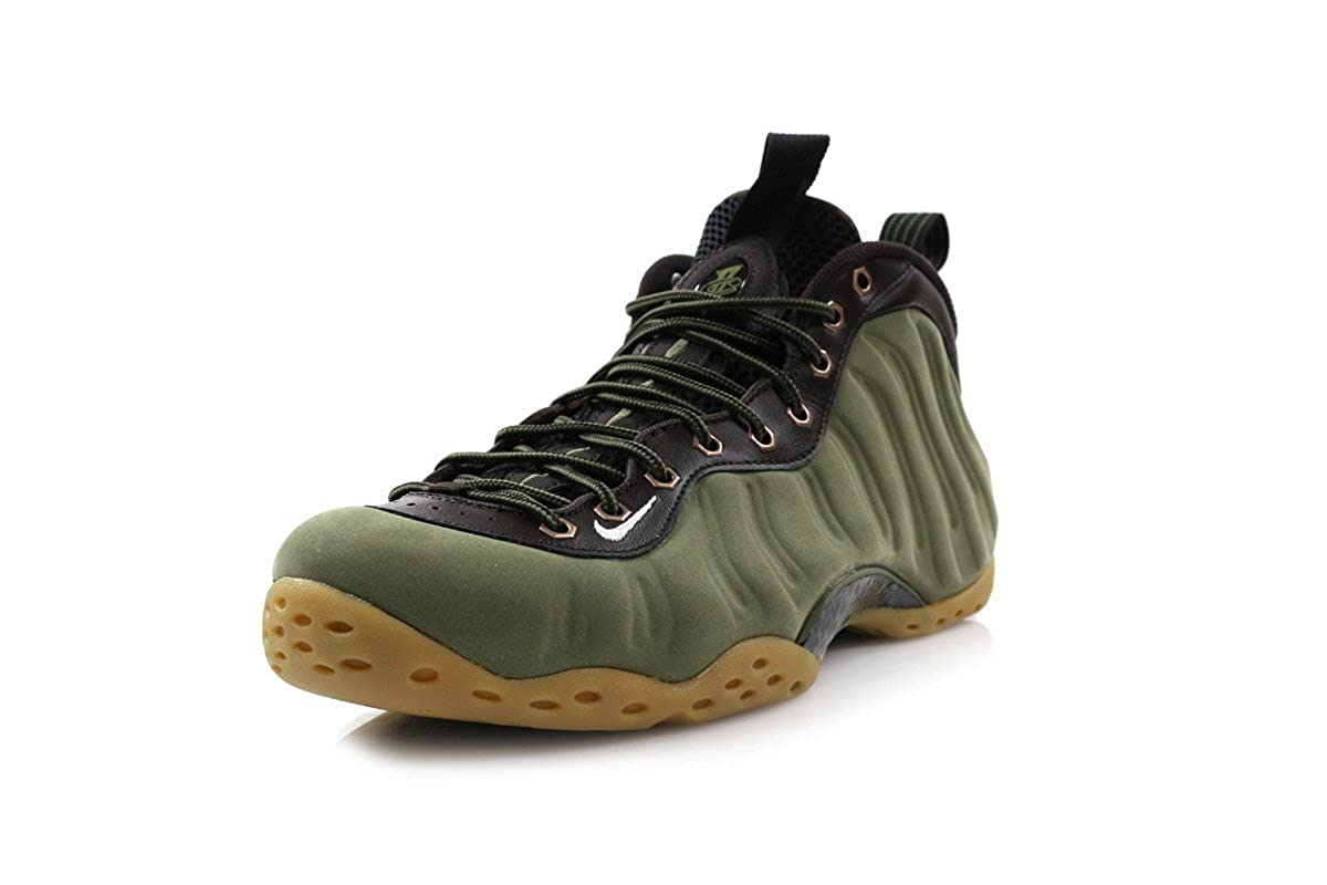brand new cb4c7 360a1 Amazon.com   NIKE Air Foamposite One PRM Olive Brown Black 575420-200    Basketball