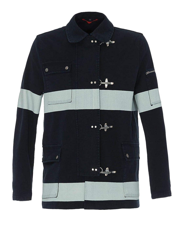Brand Size M FAY Men's NAM1938043TQWL6461 Black Cotton Jacket