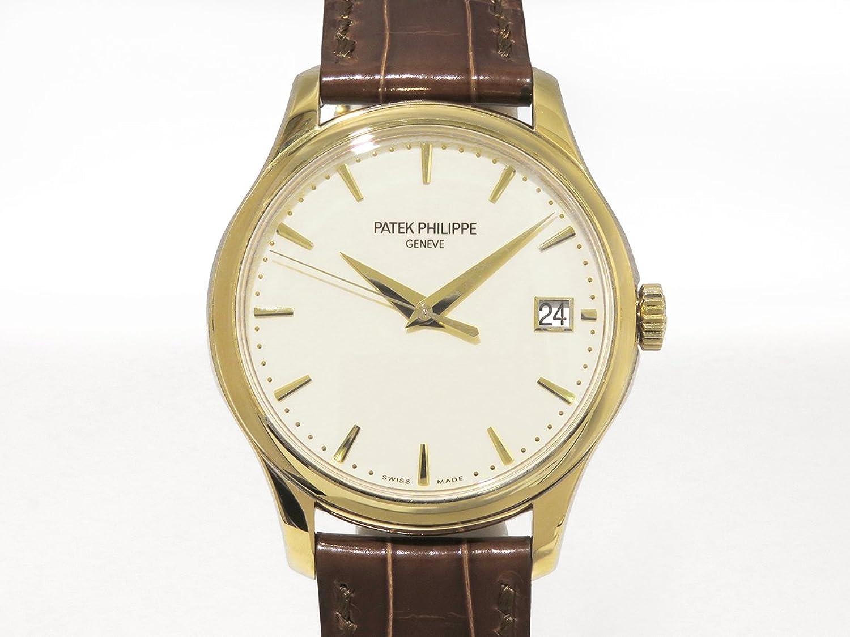 パテック フィリップ PATEK PHILIPPE カラトラバ 5227J-001 アイボリー文字盤 メンズ 腕時計 【中古】 B077RYBTY2