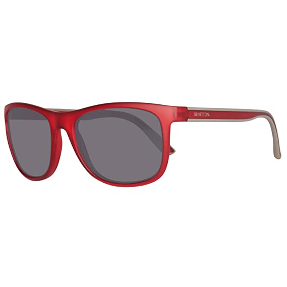 Benetton BENETTON BE882S03, Montures de Lunettes Mixte Adulte, (Red), 58