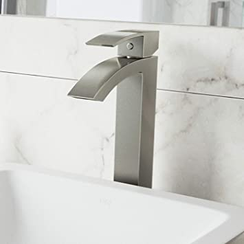 Vigo Vg03007bn Duris Brushed Nickel Bathroom Faucet Single Lever