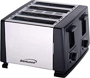 BRENTWOOD TS-284 4-Slice Toaster (Black) Home, garden & living