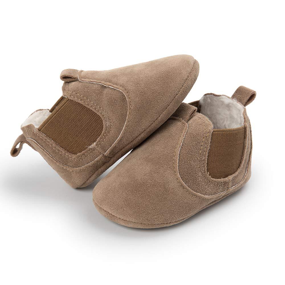 Alamana Fashion Infant Child Baby Girl Boy Soft Sole Prewalker Toddler Warm Shoes Gift Yellow 12cm